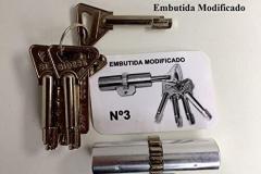 BOMBILLO SIDESE MODELO 3 - EMBUTIDA MODIFICADO